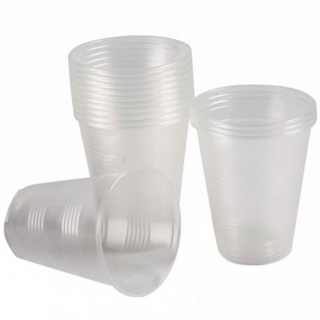 Şeffaf Plastik Otomat Bardağı Eko 180 ml 100'lü Paket